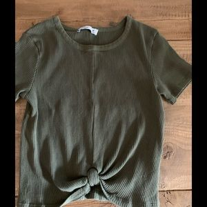 Sweet knotted tee by Hollister